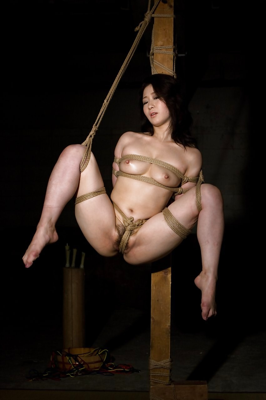 Japanese girls rope bondage free photos